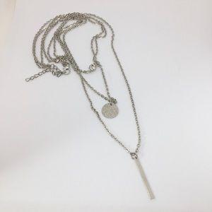 Jewelry - Silver Trio of Necklaces